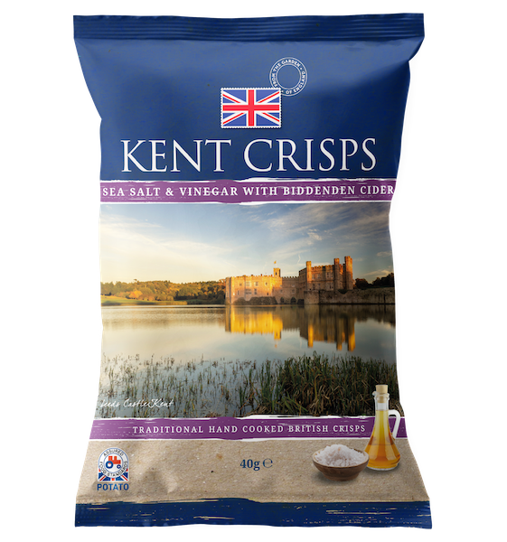 Sea Salt & Vinegar with Biddenden Cider
